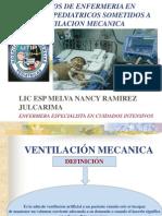 Cuidados de Enfermeria Pacientes Pediatricos Sometidos a Ventilacion Mecanica