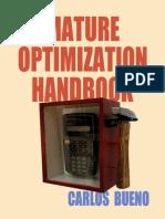 Mature Optimization Handbook