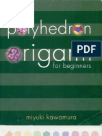 Origami Polyhedron for Beginners by Miyuki Kawamura, 100 Pages, English, EXCELENTES EXPLICACIONES