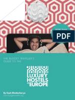 The Luxury Hostels of Europe Guide Book
