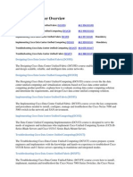 CCNP Data Center Overview