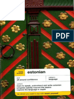 02.Teach Yourself Estonian Book