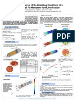 A CFD Analysis of the operating conditions of a multitube Pd membrane prification H2