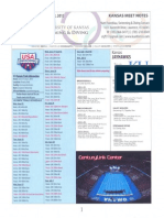 Kansas Swimmig & Diving 2012 Olympic Trial Notes