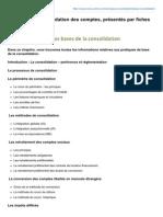 Principes de Consolidation Des Comptes