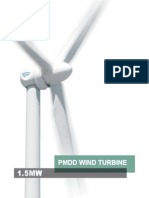 Goldwind 15MW Product Brochure 2013