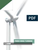 Goldwind 15MW Product Brochure 2013