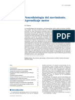 Neurofisiología Del Movimiento, Aprendizaje Motor
