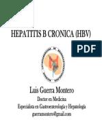 HBV Hepatitis B Crónica