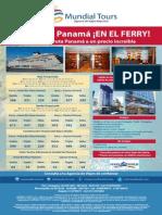 Programa Panama en El Ferry