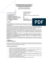 Silabo Internado 2015 I II