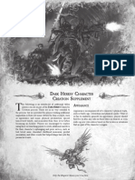 Character Creation Web Supplement