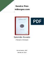 Salomão Rovedo - Sandra Pien e o Fantasma de Borges