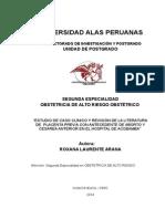 Caso Clinico Placenta Previa