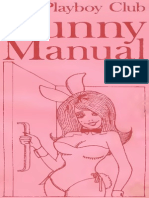 Playboy Bunny Manual 1969