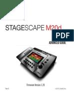 STAGESCAPE M20d Ghid de Utilizare