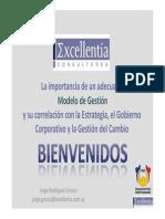 Modelo Gestion Correlacion Estrategia Gobierno Corporativo Gestion Cambio (Eliza)