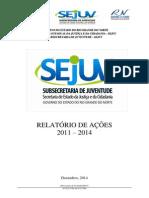 relatrio 2013 2014 - sejuv-pblico