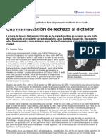 Página_12 __ El País __ Una Manifestación de Rechazo Al Dictador