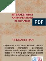 Interaksi Obat Antihipertensi