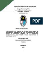 Proyecto Habitos Estudios Con Rendimiento Academico Modificado