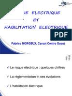Diaporama Risque Habilitation Electrique