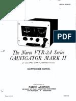VTR2A Omnigator MKII Service Manual