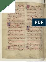 Manuscript Bibliotheque Nationale de France Score