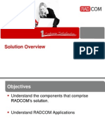 Radcom Solution Overview