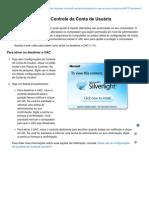 Ativar e Desativa Controle Da Conta de Usuário (UAC)