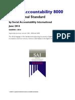 SA8000 Standard 2014