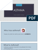 Asthma Lesson
