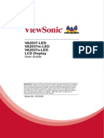 Viewsonic VA2037 Manual