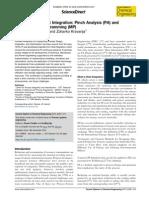 Current Opinion in Chemical Engineering Volume 2 Issue 4 2013 [Doi 10.1016%2Fj.coche.2013.10.003] Klemeš, Jiří Jaromír; Kravanja, Zdravko -- Forty Years of Heat Integration- Pinch Analysis (PA) and Ma
