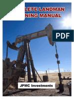 Landman Training Manual