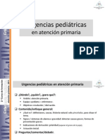 Urgencias Pediatricas en Atencion Primaria
