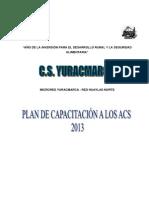 Plan de Capacitación a Los Acs-1