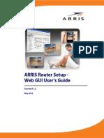 Arris Router Setup Web Gui Ug