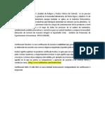 Certificación HACCP definicion