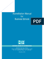 Accreditation Manual MBA