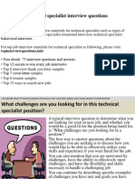technicalspecialistinterviewquestions-140925224518-phpapp02