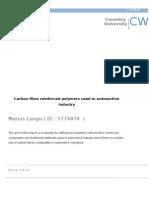 Carbon Fibre Composits