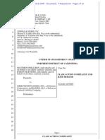 Uber class-action Safe Rides Fee lawsuit -- Philliben vs Uber -- complaint