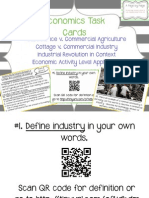 economics task cards set