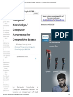 Computer Knowledge _ Computer Awareness for Competitive Exams _ Gr8AmbitionZ.pdf