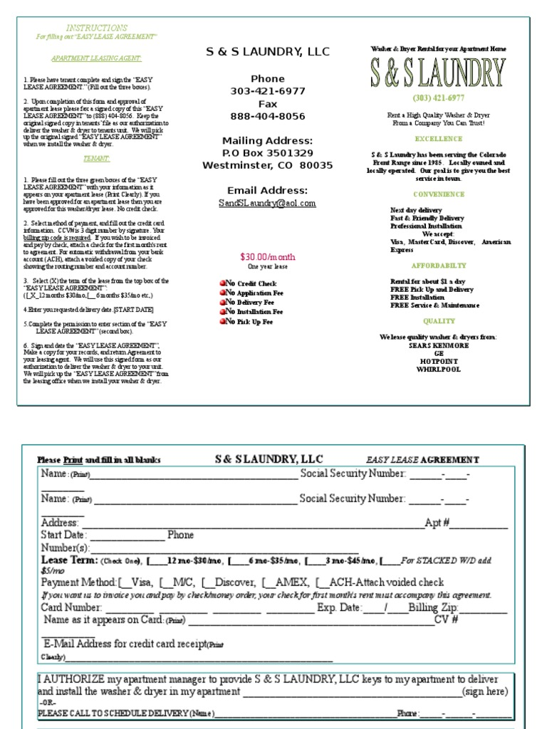 easy lease agreements