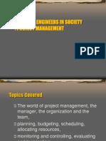 EIS PM Definition Role