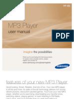 Samsung YP-S5 Manual