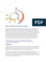 Microclimate and Site Design