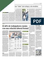 PEA Población Economicamente Activa 2014